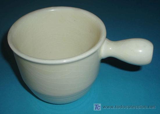 CAZO ALTURA 8 CM. MARCA SAN CLAUDIO (Antigüedades - Porcelanas y Cerámicas - San Claudio)