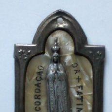 Antigüedades: MEDALLA DE LA VIRGEN DE FATIMA. Lote 19403239