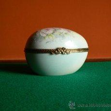 Antigüedades: CAJA PORCELANA FRANCESA LIMOGES. Lote 26792146