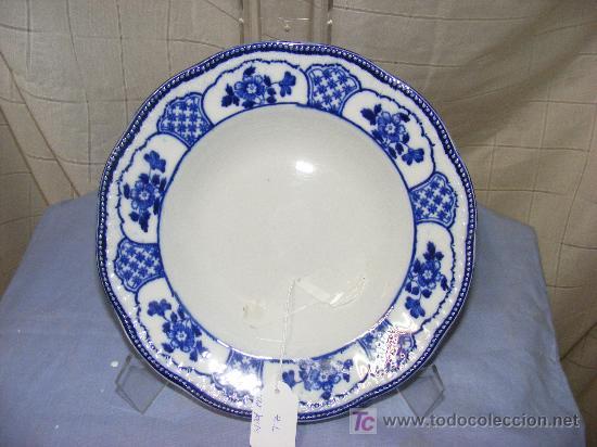 PLATO EN PORCELANA (Antigüedades - Porcelanas y Cerámicas - San Juan de Aznalfarache)
