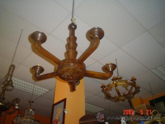 LAMPARA ART`DECÓ (Antigüedades - Iluminación - Lámparas Antiguas)