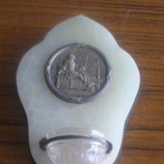 Antigüedades: BENDITERA SAN IGNACIO DE LOYOLA 1521 - 1921. Lote 24553229