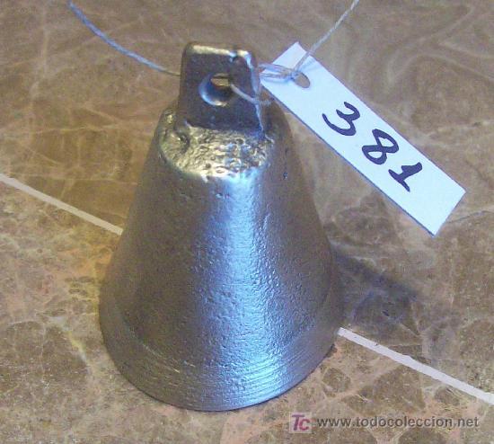 ANTIGUA CAMPANILLA DE BRONCE (Antigüedades - Técnicas - Rústicas - Caballería Antigua)