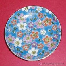Antigüedades: PEQUEÑO PLATO. MADE IN JAPAN. MARCA EN REVERSO. DIAMETRO 9 CM. Lote 27248104