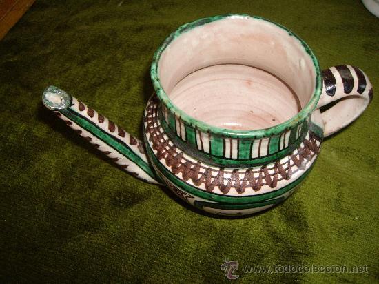 JARRA DE PICO DE CERAMICA (Antigüedades - Porcelanas y Cerámicas - Otras)