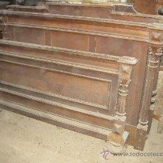 Antigüedades: CAMA ALFONSINA AÑOS 1910-1912. Lote 26361472
