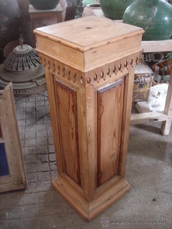 Antiguo esquinero de madera de pino restaurado comprar for Bar madera esquinero