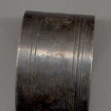 Antigüedades: ARGOLLA PARA LA SERVILLETA PLATA. Lote 27228172