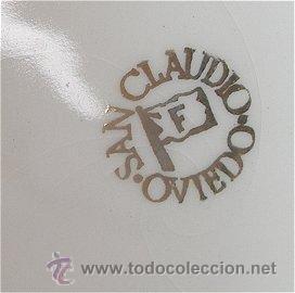 Antigüedades: SAN CLAUDIO OVIEDO BOTE O TARRO TABACO - Foto 2 - 26170920