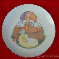 Antigüedades: PLATO INFANTA SANTA CLARA MILUPA. Lote 15596084