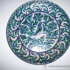 Antigüedades: PLATO CERAMICA FAJALAUZA. Lote 26358967