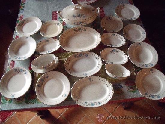 ANTIGUA VAJILLA DE PIKMAN LA CARTUJA (Antigüedades - Porcelanas y Cerámicas - La Cartuja Pickman)