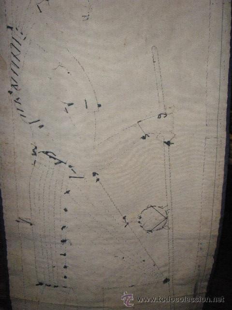 Antigüedades: TAPIZ EGIPCIO TUTANKHAMEN - Foto 6 - 26576277
