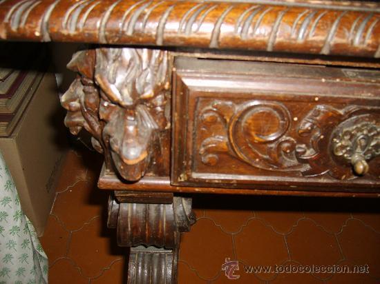 Antigüedades: Detalle mesa - Foto 4 - 26034173