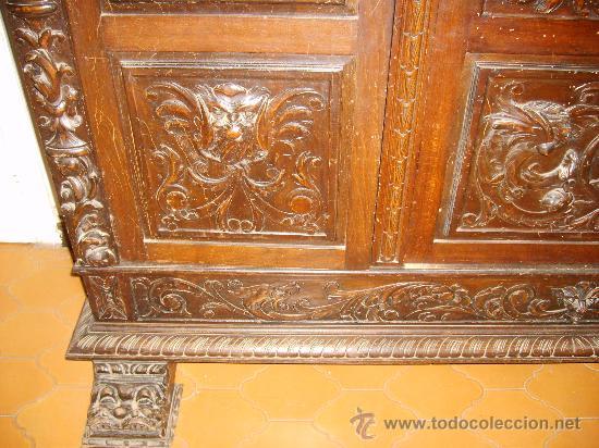 Antigüedades: Detalle libreria - Foto 14 - 26034173