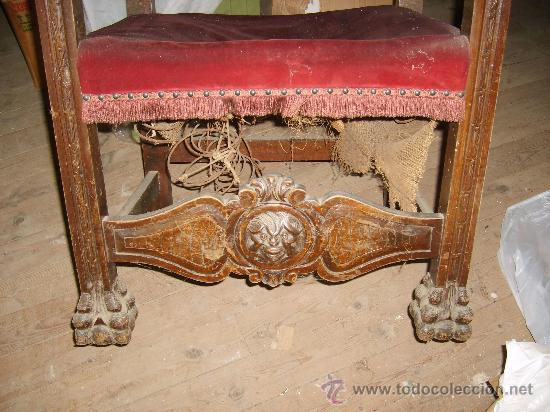 Antigüedades: Detalle sillón - Foto 16 - 26034173