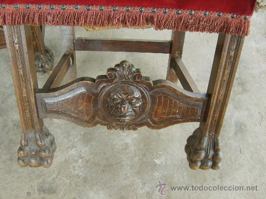 Antigüedades: Detalle sillas - Foto 19 - 26034173
