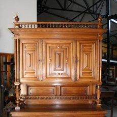 Antigüedades: APARADOR/ ALACENA ALFONSINO REF.4413. Lote 27348937