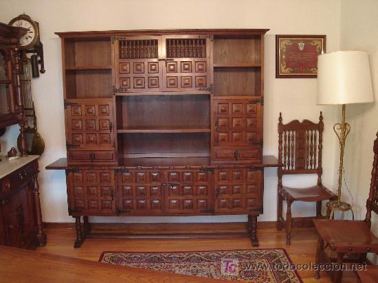 Aparador estilo castellano comprar aparadores antiguos - Muebles castellanos antiguos ...