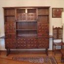 Antigüedades: APARADOR ESTILO CASTELLANO.. Lote 26758729