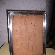 Antigüedades: MARCO DE PLATA ANTIGUO 1940 APROX.. Lote 27462191