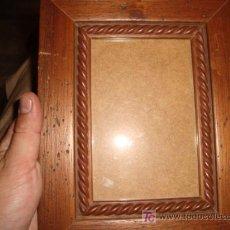 Antigüedades: MARCO PORTAFOTO CON CRISTAL Y SOLAPA PARA MESA 18 X 23 CM. Lote 14265936