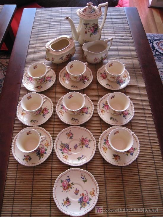 Juego de te porcelana inglesa royal cauldon a comprar - Porcelana inglesa antigua ...