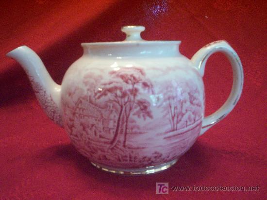 Antigua tetera inglesa sadler colecci n comprar - Porcelana inglesa antigua ...