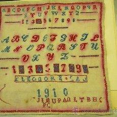 Antigüedades: ABECEDARIO ANTIGUO. Lote 27582607