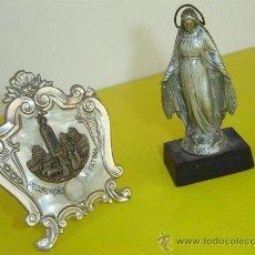 Antigüedades: VIRGENES Y RELICARIO 1830. Lote 14373037