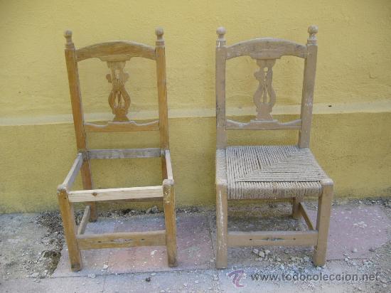 Silla sillas de principios del s xx con esp comprar - Restaurar sillas antiguas ...