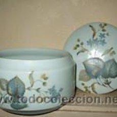 Antigüedades: POUBELLE DE TABLE LIMOGES. Lote 27326418