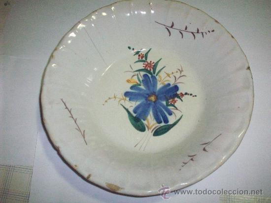 PLATO LEVANTINO PRINCIPIOS DEL SIGLO XX (Antigüedades - Porcelanas y Cerámicas - Manises)