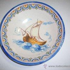 Antigüedades: PLATO TALAVERA NIVEIRO ALFAR DEL CARMEN. Lote 26735873