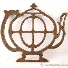 Antigüedades: SALVA MANTEL DE BRONCE. Lote 193617370