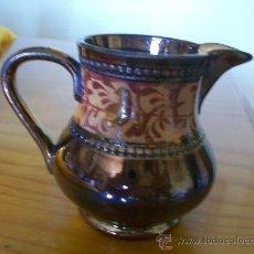 Antigüedades: ANTIGUA JARRA DE REFLEJOS. ENGLAND. ALLERTONS LONGTON. FINALES DEL XIX. Lote 27612126