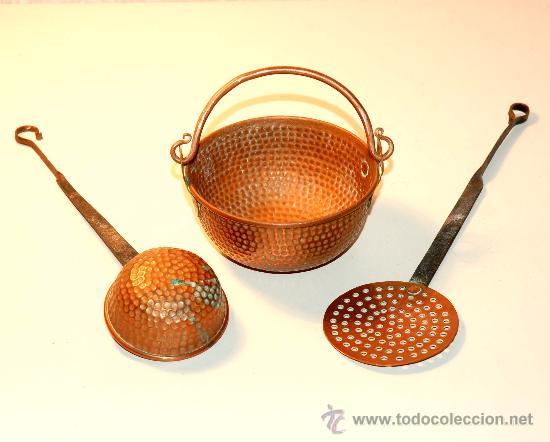 viejas miniaturas de antiguos utiles de cocina - Comprar Utensilios ...
