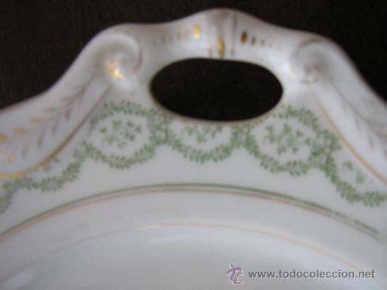 Antigüedades: ANTIGUA BANDEJA DE PORCELANA - Foto 2 - 14682360