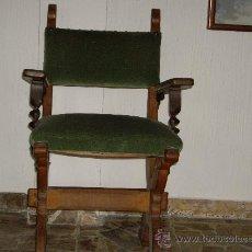 Antigüedades: SILLON DE ROBLE. Lote 26783579
