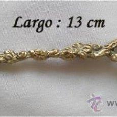 Antigüedades: CUCHARILLA ESMALTADA DE MORCOTE SUIZA. Lote 25591450