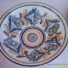 Antigüedades: PLATO DE CERÁMICA MUY DECORATIVO. Lote 21469468