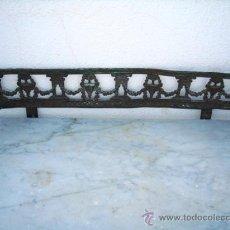 Antigüedades: ADORNO DE METAL PESADO PARA MUEBLES. Lote 26820322