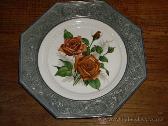 PLATITO DE PORCELANA ESCHENBACH (Antigüedades - Porcelana y Cerámica - Alemana - Meissen)