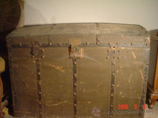 ANTIGUO BAÚL (Antigüedades - Muebles Antiguos - Baúles Antiguos)
