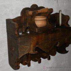 Antigüedades: MUEBLE MADERA PARA EL ALMIREZ, RUSTICO ,,, MUE365. Lote 61863807