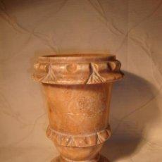 Antigüedades: ANTIGUO JARRON REALIZADO EN MARMOL, MITAD S.XX.. Lote 27281755