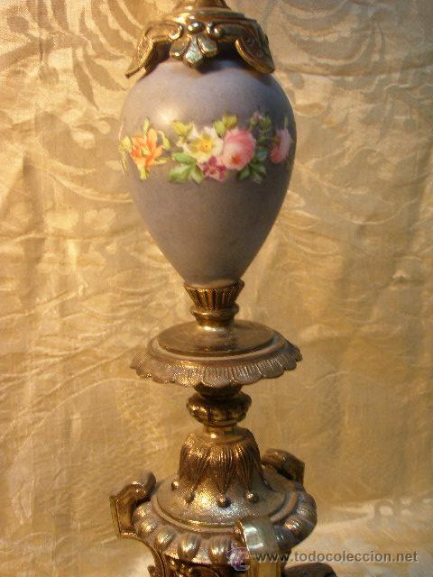 Antigüedades: PAR CANDELABROS DEL XIX - Foto 4 - 27183552
