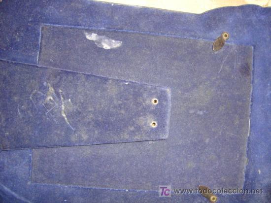 Antigüedades: dos antiguos marcos plateados, no se el material, 28 x 20 y 23 x 17, medidas interiores 17 x 12 cm - Foto 9 - 22312827