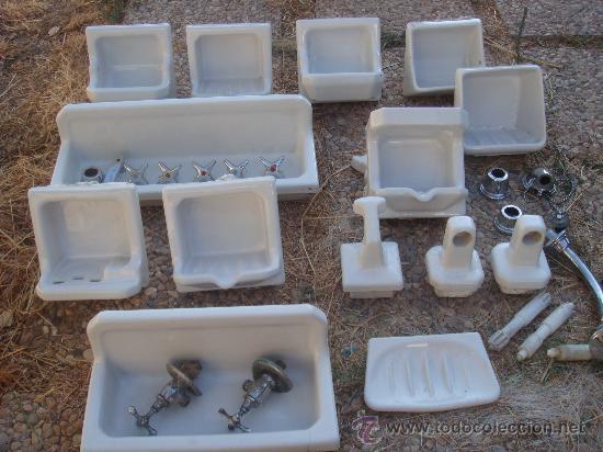 Accesorios ba o porcelana comprar antig edades varias en for Accesorios bano porcelana