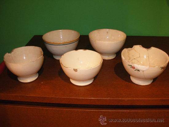 VASIJAS DE CERAMICA (Antigüedades - Porcelanas y Cerámicas - Otras)
